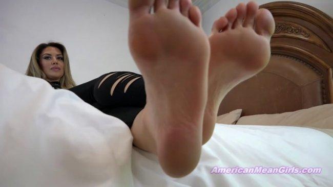 Sleepy Lesbian Feet Worship