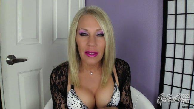 Goddess Nikki - Be A faggot cocksucker For Me
