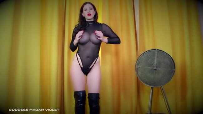 Goddess Madam Violet - It's Just Number$