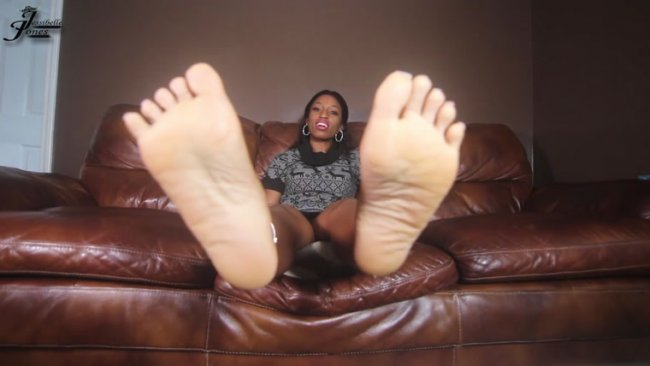 Ebony Empress Jess - Best Friend Feet - Part 6