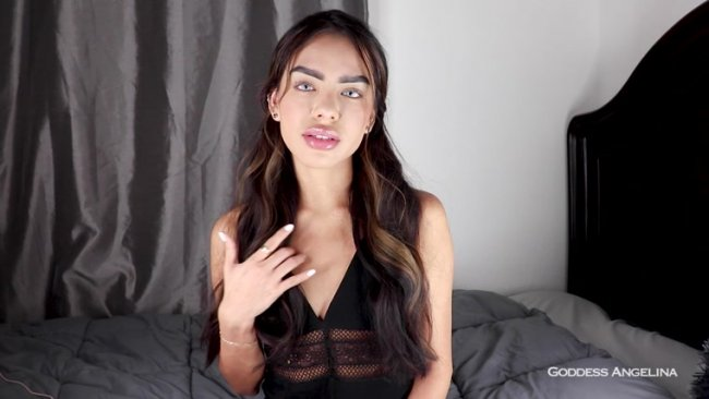 Goddess Angelina - I'm Allergic To Small Dick