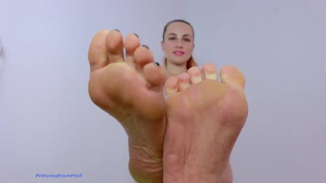 Princess from Hell - My feet are your life