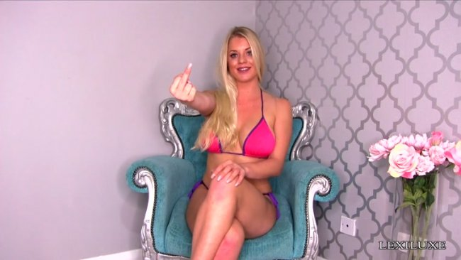 Princess Lexi Luxe - LOSERS JERK OFF TO ANYTHING