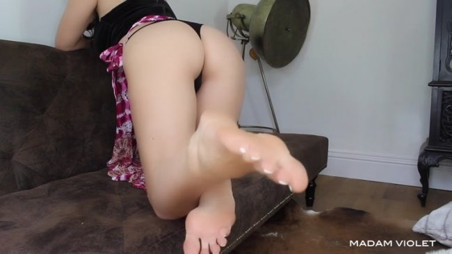 Goddess Madam Violet - Feet First