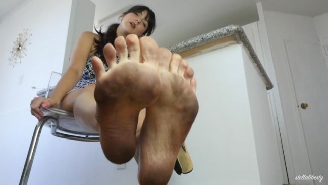 Stella Liberty - Dirtiest Sandal Feet You've Ever Seen JOI