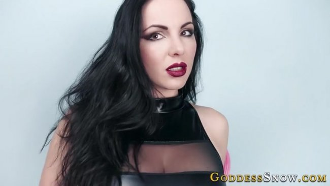 Goddess Alexandra Snow - Go Down to Cum