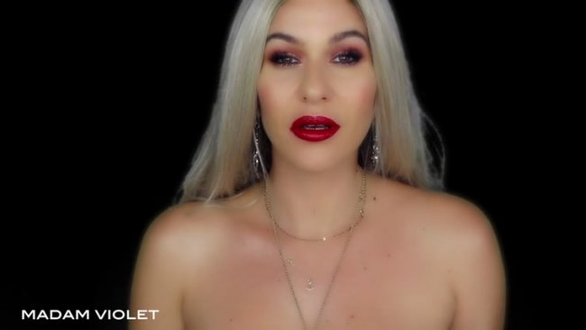Madam Violet – No More Pussy: Red Lips Brain Fuck