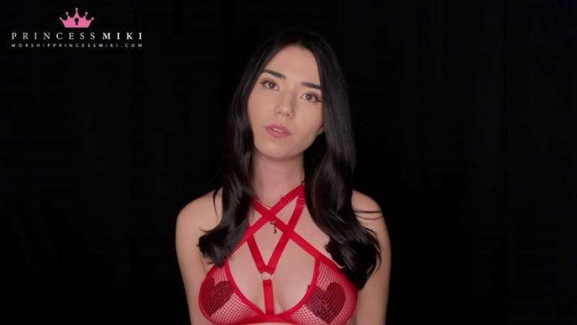 Princess Miki - Try Chastity for Me