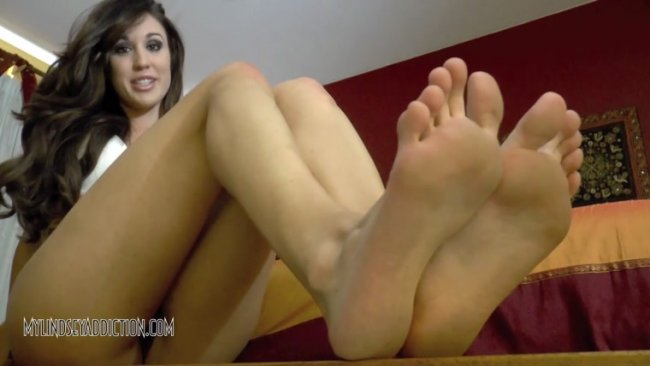 Lindsey Leigh Addiction - FEET MAKE YOU EAT YOUR CUM