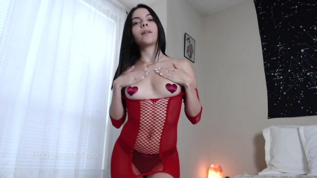 Princesss Miaxx - Red Hot Ass Worship POV and JOI
