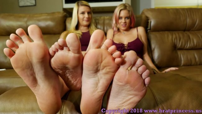 Anabelle, Chloe POV – Perfect Soles Humiliation with Cum Countdown
