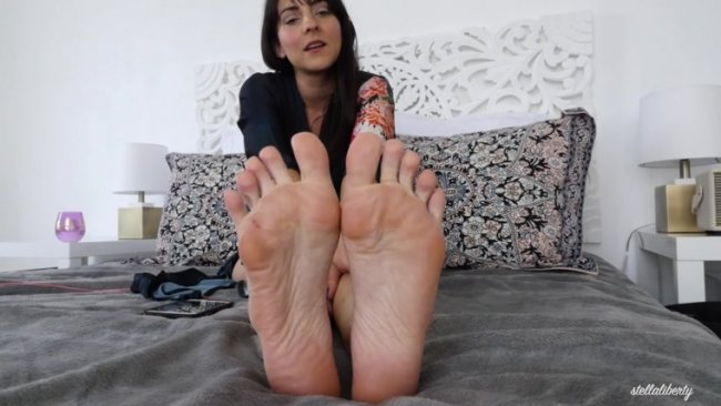 Stella Liberty - Sole Worship JOI Session