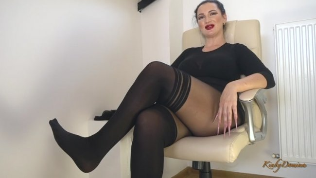 Kinky Domina - Worship My Smelly Feet after a Long Day Shopping