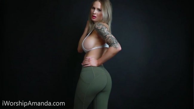 Goddess Amanda - Cum on Your Mind CEI