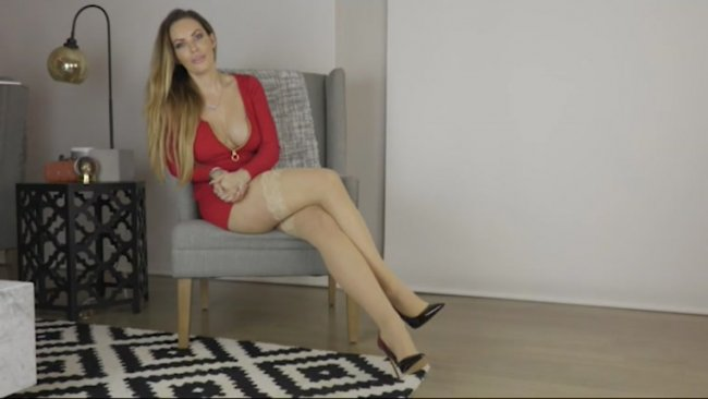 Goddess Harley - Swinger Wife's Handjob Humiliation