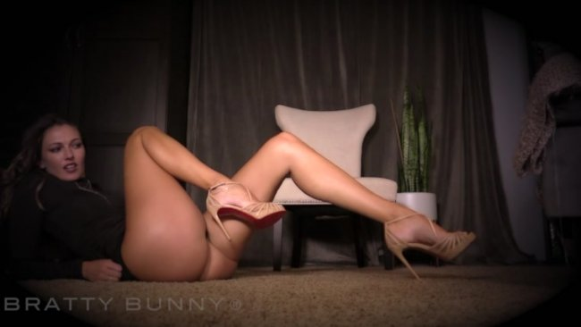Bratty Bunny - Designer Heels And Leg Worship