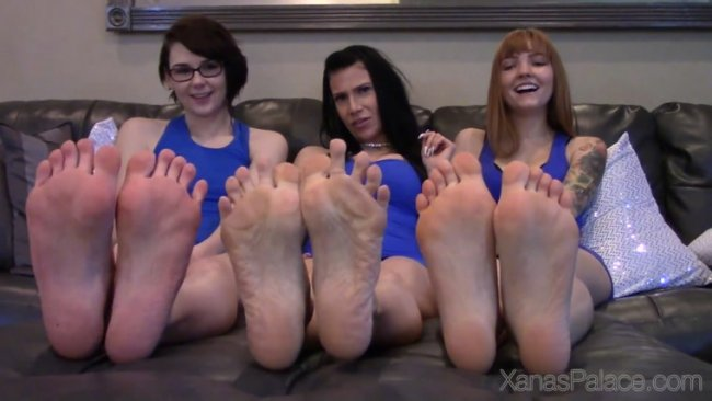 Xanas Foot Fantasies - Foot Party Privileges