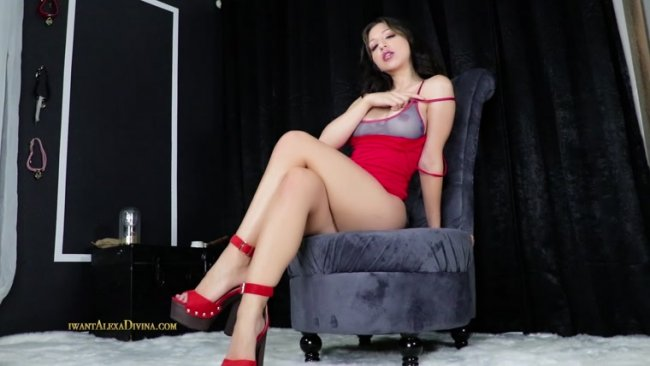 Goddess Alexa Divina - CEI for my cuckold