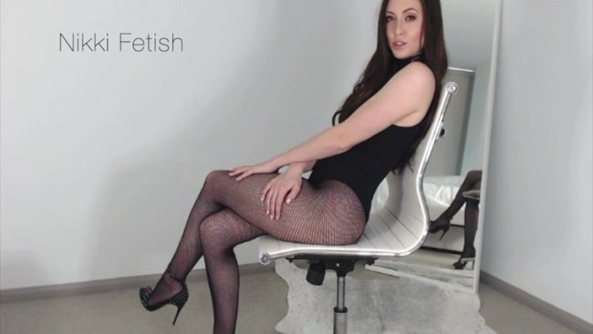 Nikki Fetish - Chastity Jerk Off Continued