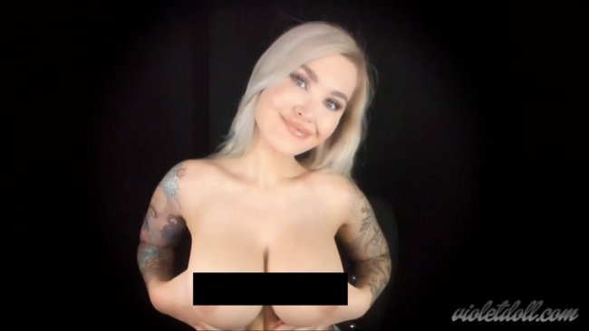 Violet Doll - Bare Tits