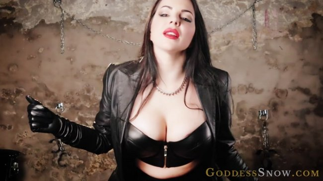 Goddess Alexandra Snow - Leather Experiment