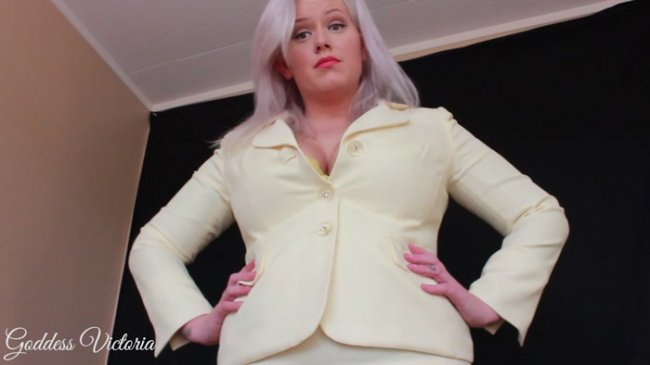Goddess Victoria - Headmistress Punishes You With Sweaty Nylons