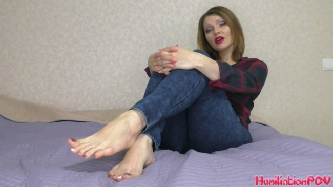 Miss Honey Barefeet - You Can't Take Your Eyes Off Of My Feet Even As I Dump You