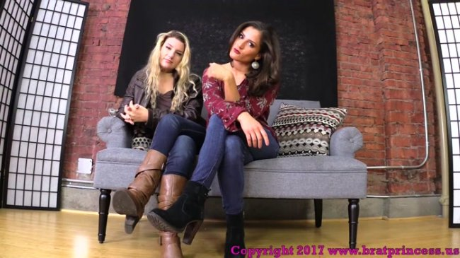 Princess ChiChi, Princess Chloe POV – You Need to be Locked in Chastity before You Worship Our Feet