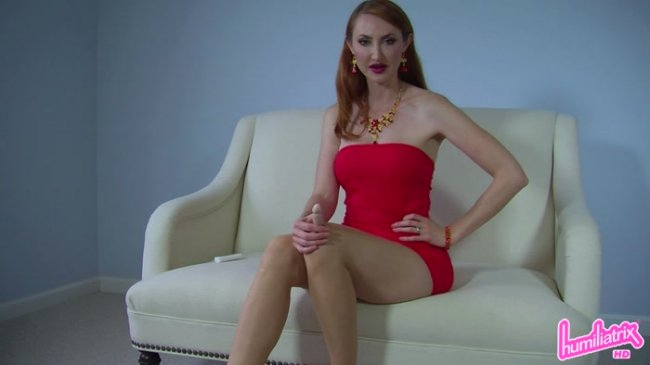 Mistress Kendra - Two-Finger Tutorial for Loser Boys with Tiny Toys