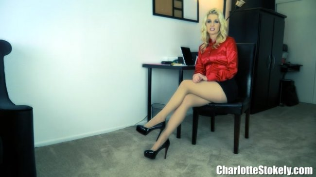 Charlotte Stokely - Office Shoe Perv