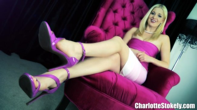 Charlotte Stokely - Blackmailed Footboy Forever