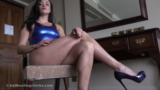 Ball Busting Chicks - The Hunteress POV - Come Here!
