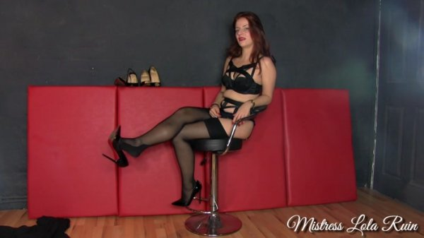 Mistress Lola Ruin - Heels Financial Coercion