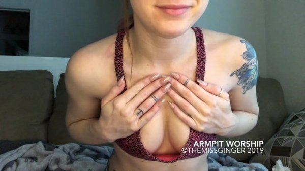 The Miss Ginger - Armpit Worship for Betas