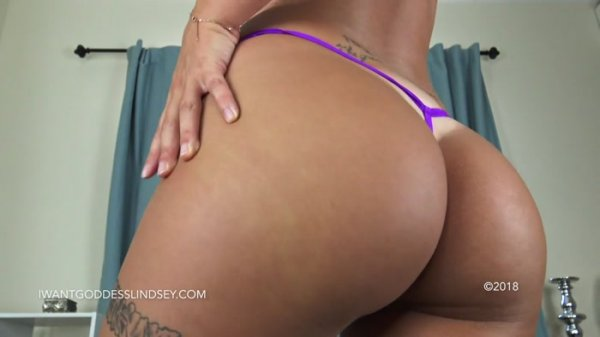 Goddess Lindsey - Lucky Loser Ass Worship