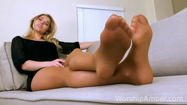 Princess Amber - Step-s0n Gets Stepped On