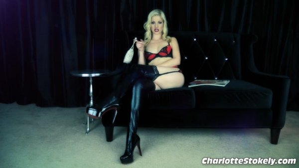 Charlotte Stokely - Girl Talk In Chastity