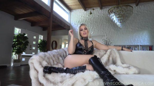 Goddess Jessica - Lonely Virgin Reject JOI
