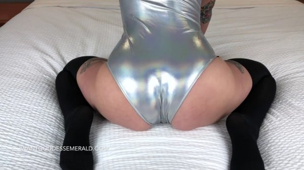 Goddess Emerald - Weak For My Shiny Bodysuit