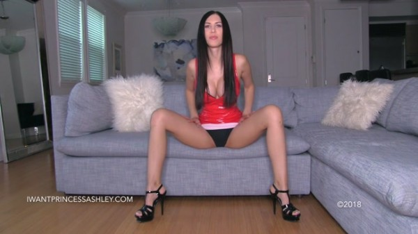 Princess Ashley - Fiery Femdom Brat