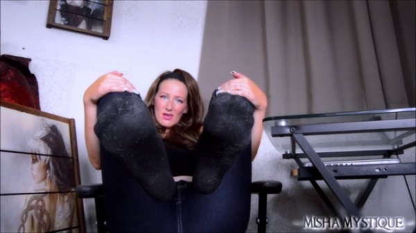 Goddess Misha Mystique - Foot Freak: POV Sock Worship JOI