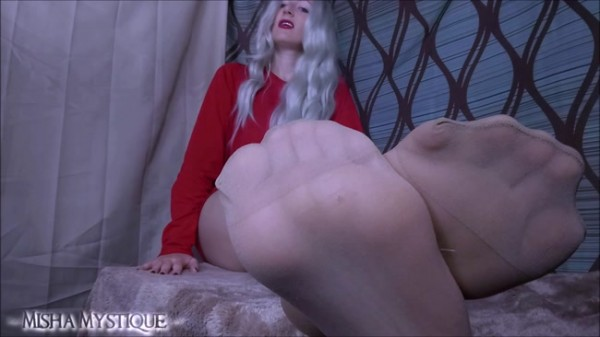 Goddess Misha Mystique - Thankful: A Pantyhose Findom JOI