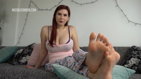 Miss Alisandra - Jerk Off To Feet Forever