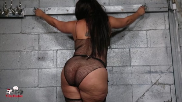 Sophia Sylvan - Jerk for My Ass in Fishnet