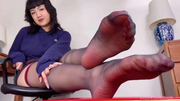Goddess Heather - My Footslave Forever