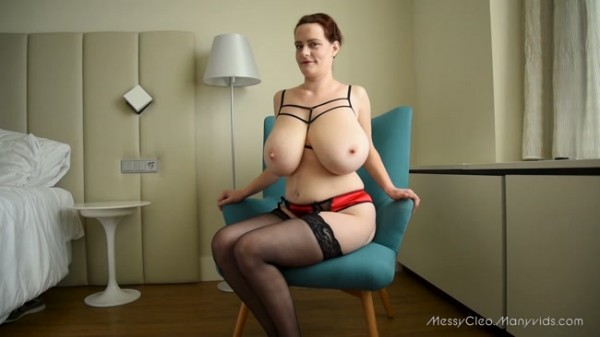 Messy Cleo - Red Suspenders