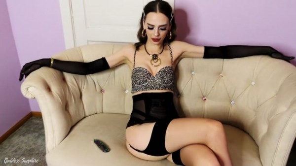 Goddess Sapphire - Bye Bye Balls and Cock