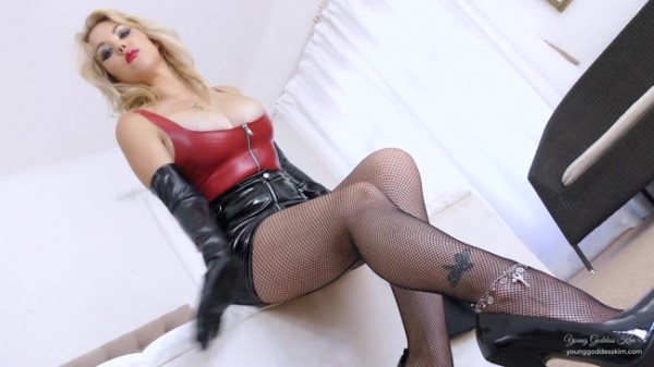 Young Goddess Kim - Suffer in Chastity