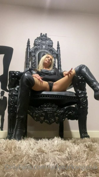 LADY DARK ANGEL - How Much Do You Want To Serve Me