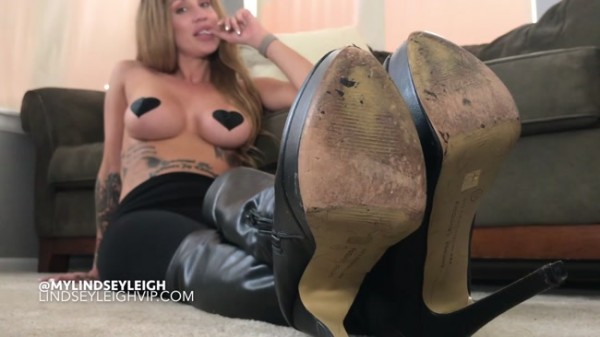 Lindsey Leigh - I want you to cum on my high boots